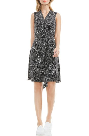 Women's Vince Camuto Modern Mosaic Wrap Dress