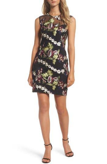 Bardot Jade Lace Dress, Black