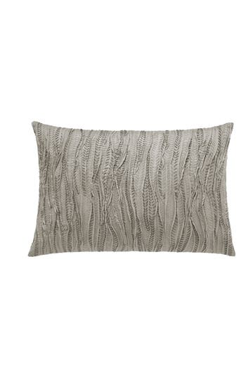 Vera Wang Lux Marble Shibori Breakfast Accent Pillow, Size One Size - Brown
