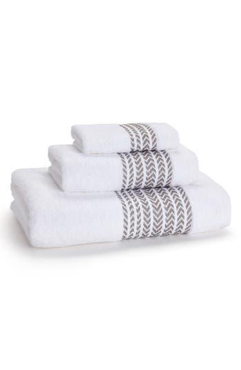 Kassatex Baja Hand Towel, Size One Size - Grey