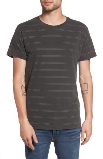 Rvca Double Stripe T-Shirt, Black
