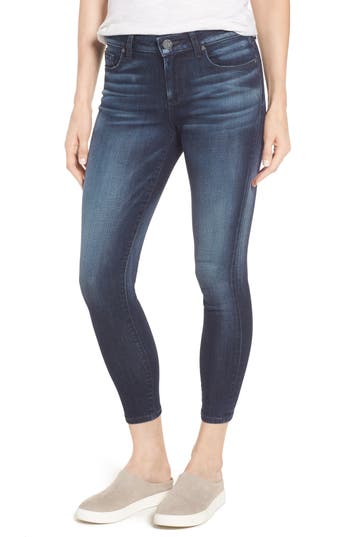 Kut From The Kloth Diana Curvy Fit Crop Skinny Jeans, Blue