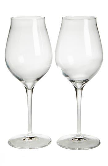 Luigi Bormiolo Vinea Malvasia/orvieto Set Of 2 White Wine Glasses, Size One Size - White