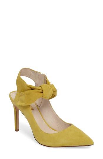 Women's Louise Et Cie Jeph Ankle Bow Pointy Toe Pump
