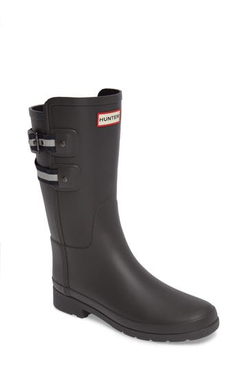 Hunter Original Refined Short Rain Boot, Grey