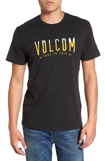 Volcom T-Mark Logo T-Shirt, Black