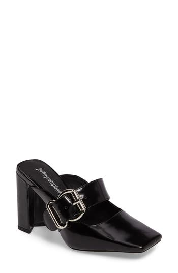 Jeffrey Campbell Audriss Mary Jane Mule, Black