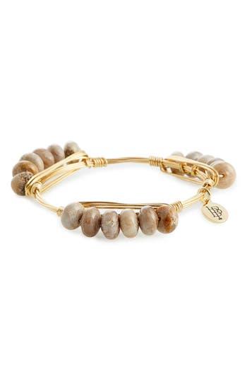 Women's Bourbon & Boweties Agate Wire Bracelet