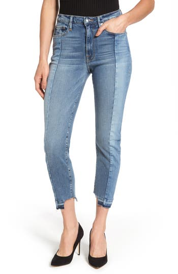 Women's Good American Raw Hem High Waist Skinny Jeans at NORDSTROM.com