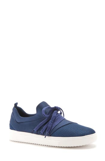 Blondo Gwen Waterproof Sneaker- Blue