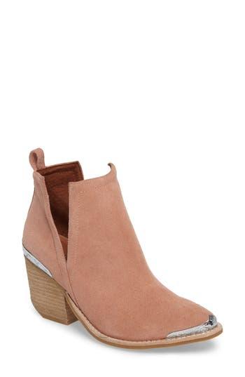 Jeffrey Campbell Cromwel Cutout Western Boot, Pink