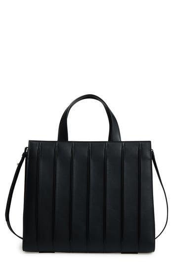 Max Mara Large Whitney Leather Tote - Black
