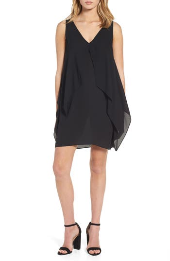 Chelsea28 Flutter Overlay Shift Dress