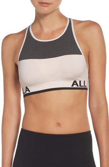 Alala Ace Seamless Sports Bra, Pink