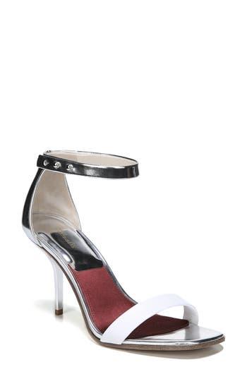 Diane Von Furstenberg Ferrara Ankle Strap Sandal, Ivory