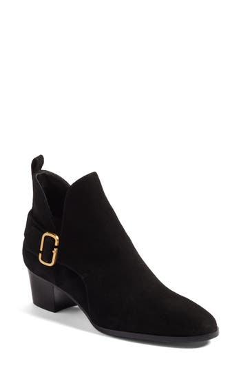Marc Jacobs Ginger Interlock Bootie Brown