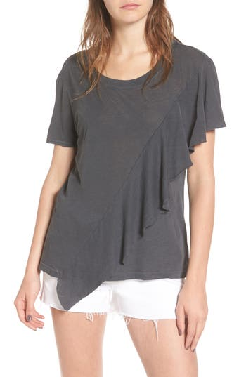 Splendid Vintage Whisper Tee, Grey