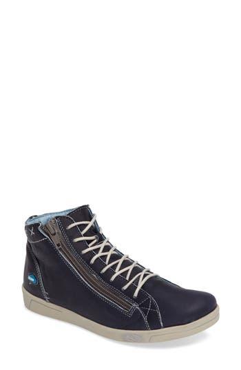 Cloud Aika Zip Sneaker - Blue