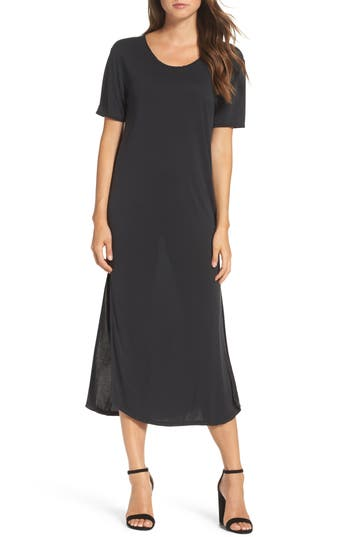Women's Knot Sisters Diddy Midi Dress, Size X-Small - Black