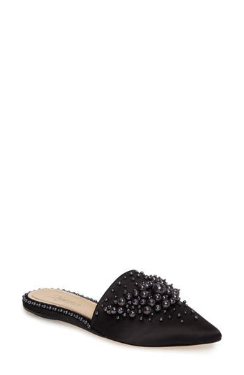 Imagine By Vince Camuto Casele Pointy Toe Mule, Black