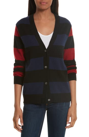 Women's Equipment Shelly Stripe Cashmere Cardigan