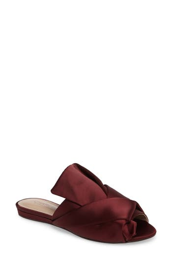 Charles By Charles David Mya Folded Slide Sandal, Purple