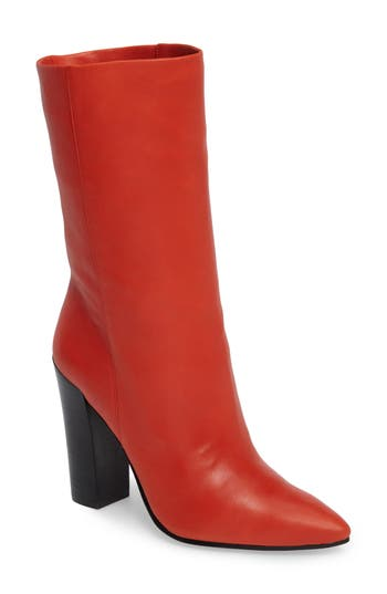 Dolce Vita Ethan Pointy Toe Bootie, Red