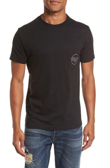 Rvca Strike Graphic T-Shirt, Black
