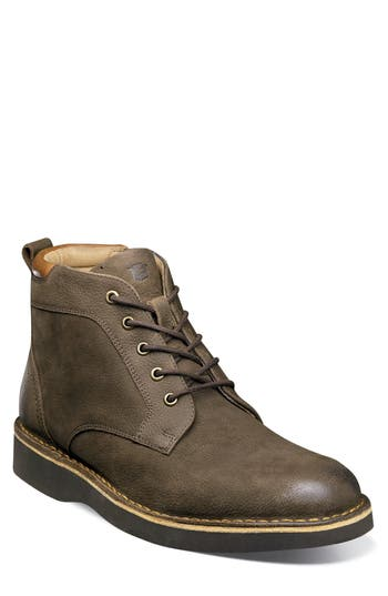 Florsheim Navigator Plain Toe Boot EEE - Brown