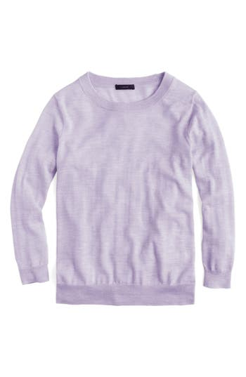 J.crew Tippi Merino Wool Sweater, Purple