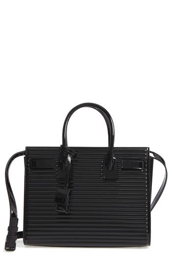 Saint Laurent Baby Sac De Jour Quilted Calfskin Leather Tote -