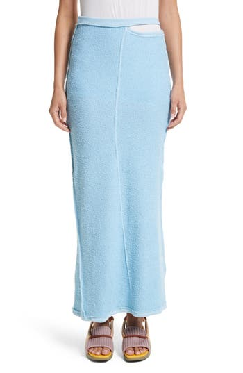 Women's Eckhaus Latta Lapped Midi Skirt