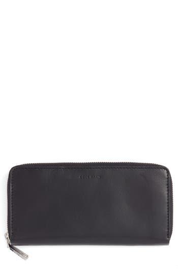 Cole Haan Continental Zip Wallet - Black