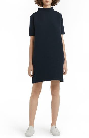 French Connection Marian Shift Dress, Blue