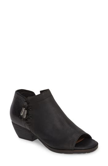Otbt Truckage Open Toe Bootie- Black