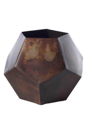 Accent Decor Copper Finish Bud Vase, Metallic