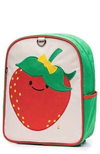 Toddler Beatrix New York Little Kid Backpack  Red