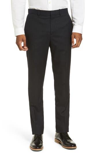 Men's Theory Jake Slim Fit Wool Flannel Pants