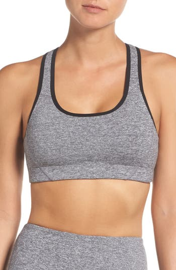 Zella Move Sports Bra, Grey