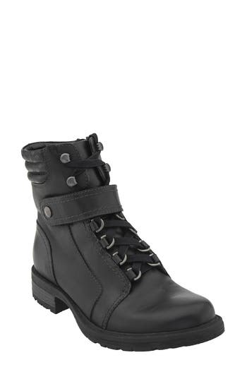 Earth Everest Lace-Up Boot- Black