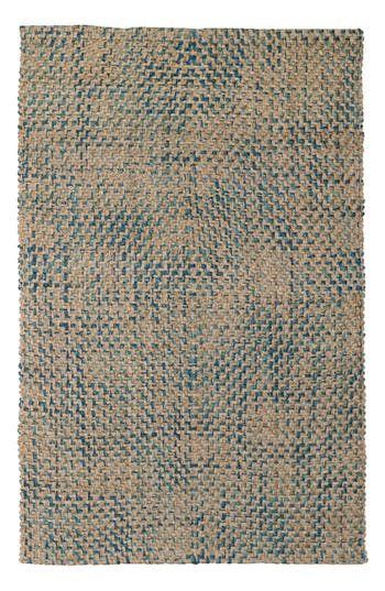 Villa Home Collection Ladera Handwoven Rug, x3 - Blue