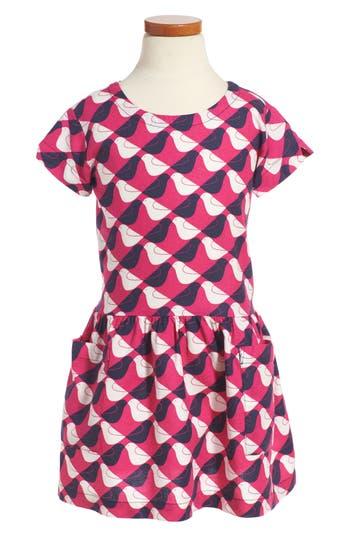 Girl's Tea Collection Argyle Birds Dress