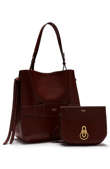 Mulberry Amberley 2-In-1 Hobo   Crossbody Bag - Burgundy   ModeSens 29496fbae6