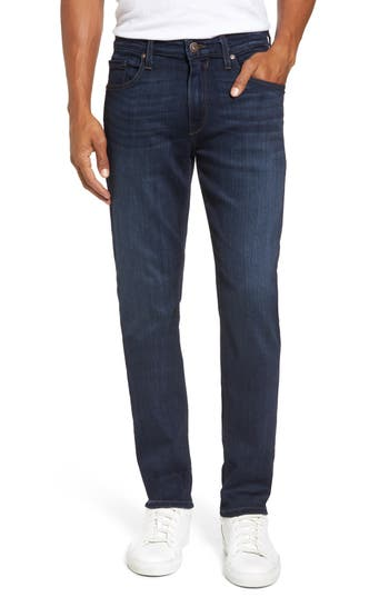 Paige Transcend - Federal Slim Straight Leg Jeans, Blue