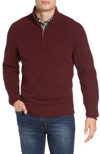 Rodd & Gunn Stredwick Lambswool Sweater, Red