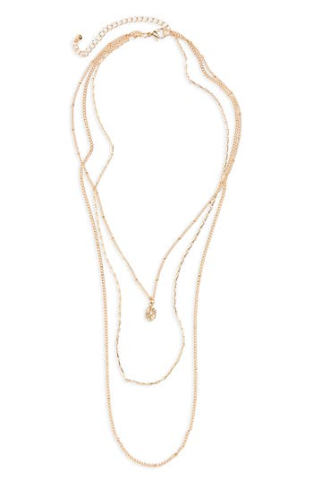 Women's Bp. Layered Charm Necklace