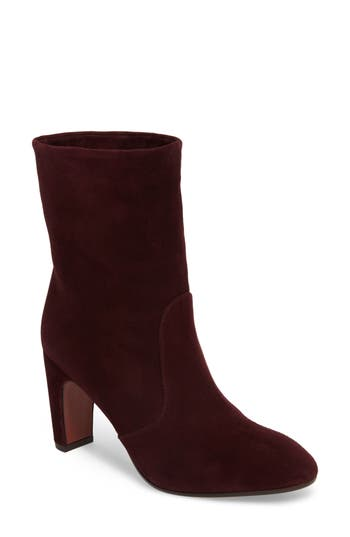 Chie Mihara Xicle Bootie- Burgundy