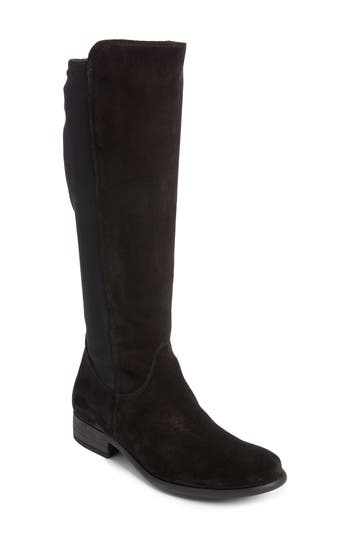 Paul Green Nola Tall Water Resistant Boot - Black