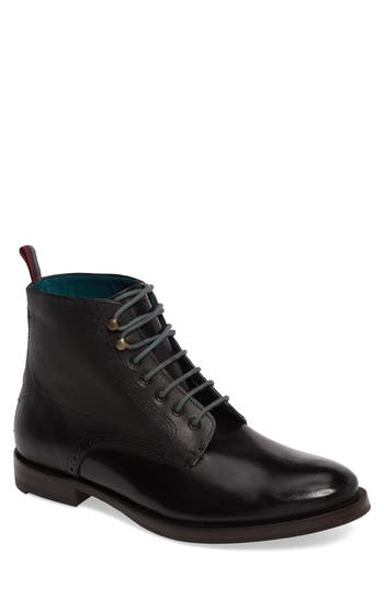Ted Baker London Dhavin Embossed Boot, Black