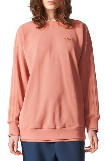 Adidas Originals Thermal Sweatshirt, Pink